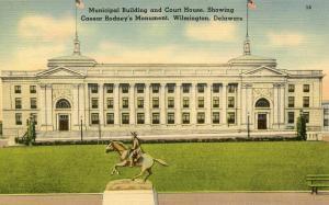 DE - Wilmington. Municipal Building and Courthouse