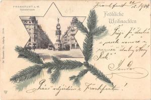BG19759 frankfurt am main kaisestrasse weihnachten christmas germany