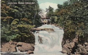 RIDEAU LAKES, Ontario, Canada, 1900-1910's; Jones Falls