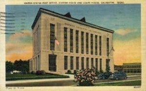 United States Post Office - Galveston, Texas