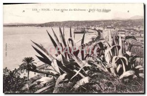 Postcard Old Nice View from Castle Bay Augeu