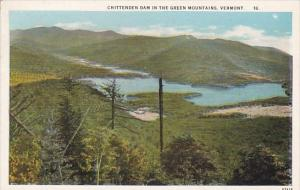 Vermont Chittenden Dam In The Green Mountains