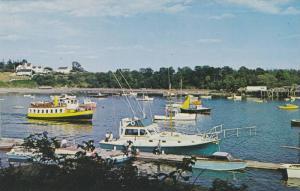 Portland Excursion Boat and Tuna Boat at Merrill's on Mackerel Cove, Bailey I...