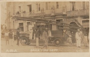 RP: BAHIA , Brazil , 00-10s , Bahia Fire Department Truck