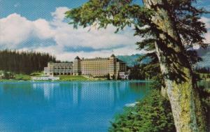 Canada Chateau Lake Louise Banff National Park Alberta
