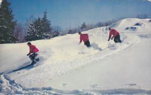 Ski Run, Winter Sport, CANADIAN ROCKIES, Alberta, Canada, 40-60´s