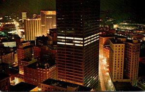 Georgia Atlanta Equitable Building At Night