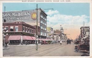Main Street , Looking North , MOOSE JAW , Saskatchewan , Canada , 00-10s