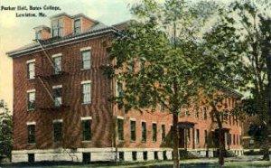 Parker Hall, Bates College in Lewiston, Maine
