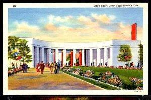 New York World's Fair 1939 The Rose Court