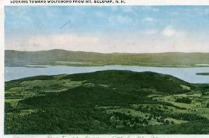 NH - Looking Toward Wolfeboro from Mt. Belknap
