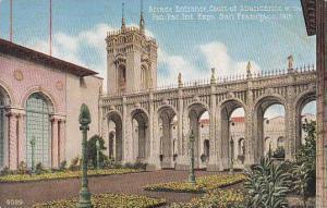 Arcade Entrance Court Of Abundance Panama Pacific Int Expo San Francisco 1915
