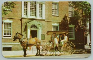 Dover Delaware~Colonial Glories~Old State House~Vintage Postcard