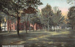 LP27 Portland Maine Westbrook Seminary   Postcard