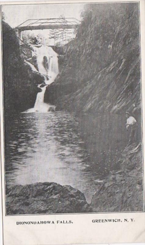 New York Greenwich Dionondahowa Falls