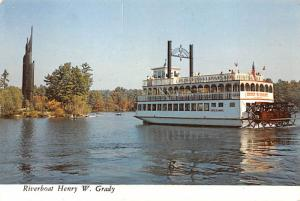 Riverboat Henry W Grady - Stone Mountain, Georgia