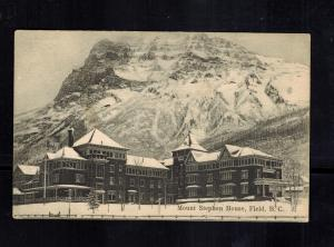 Mint Canada picture Postcard PPC Mount Stephen House Field BC