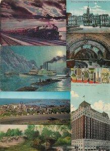 Interesting Vintage USA Postcard Lot of 50+ 01.16