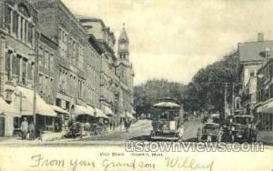 Main St. Haverhill MA 1907