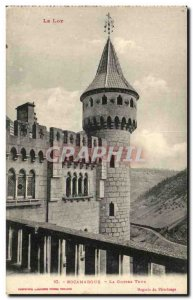 Old Postcard Rocamadour The big tower