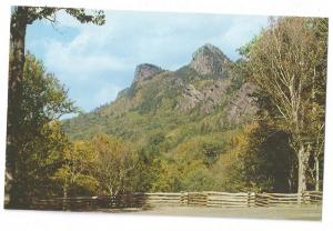 NC Grandfather Mountain Blue Ridge Postcard North Carolina