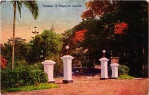 SINGAPORE PC Entrance of Singapore Garden (a1434)