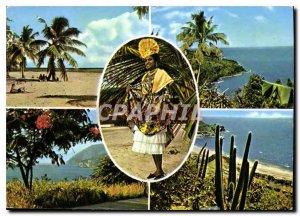 Postcard Modern Guadeloupe