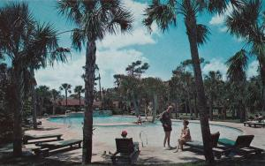 MYRTLE BEACH , South Carolina , 50-60s ; El Rancho Court, Swimming Pool