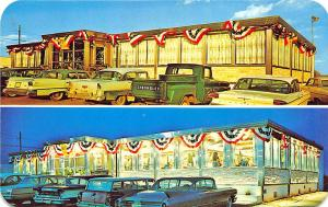 Flemington NJ Circle Diner Duo-View Old Cars Truck Postcard