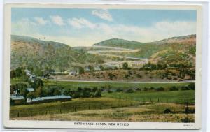 Raton Pass Raton New Mexico postcard
