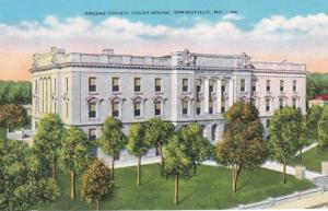 Missouri Springfield Greene County Court House
