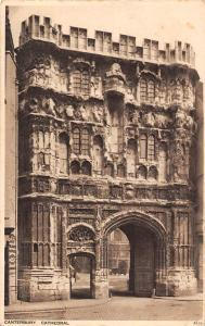 Canterbury Cathedral Gateway 1928