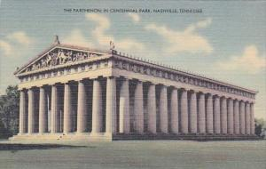 The Parthenon In Centennial Park Nashville Tennesse