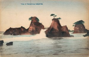 Japan View of Matsushima Inland Sea Hand Colored 03.78