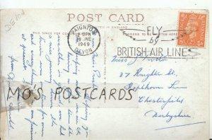 Genealogy Postcard - Proctor - Chesterfield - Derbyshire - Ref  9448A