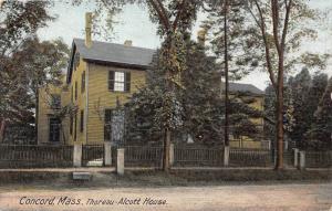 26220 MA, Concord, 1915, Thoreau - Alcott House