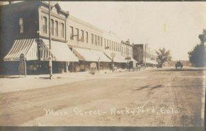 RP: ROCKY FORD , Colorado , 1900-10s ; Main Street