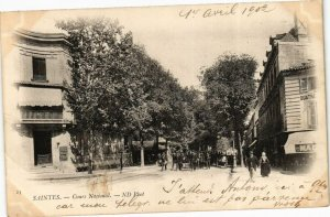 CPA SAINTES-Cours National (45476)