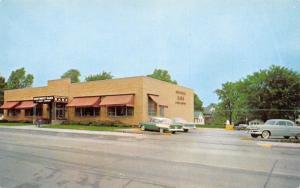 Davenport Iowa~Northwest Bank & Trust Co~Locust Street~Mailbox~1950s Cars~1958