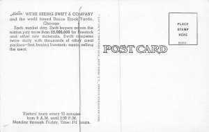 Advertising Post Card Swift & Company Chicago, IL, USA Unused