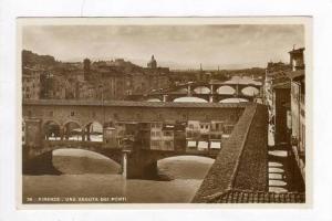 RP  Firenze - Una Veduta Dei Ponti, Italy, 1910-30s