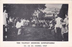May pole , Tere Tulemast Seedrioru Suvepaevadele, Ontario , Canada , 1957 ; Map