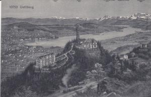 Aerial View of Uetliberg, SWEDEN, 00-10s
