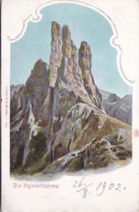 Austria Tirol Die Vajoletthuerme 1902