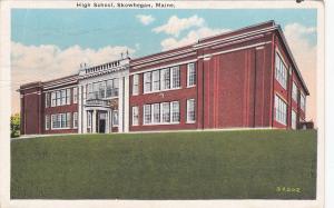SKOWHEGAN , Maine , 00-10s ;  High School