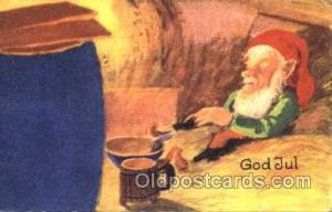 Gnomes, Elves, Fairy, Faries, Postcard Post Card