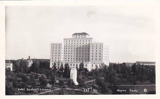 RP, Hotel Saskatchewan, Regina, Saskatchewan, Canada, 1920-1940s