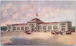 Winona, Minnesota Postcard Watkins Administration Building General Offices 1930s