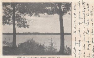 SEWELL , Maryland , 1920 ; View at G.F.S. , Camp Kemah