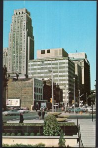 ON TORONTO Skyline looking North on Yonge Street from O'Keefe Centre 1950s-1970s